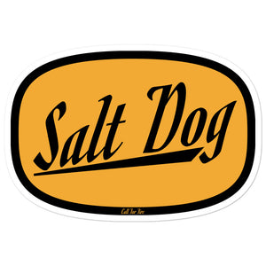 Salt Dog Sticker