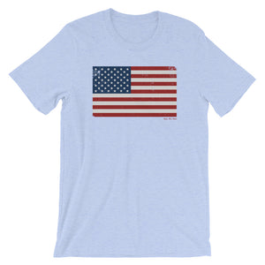Red White and Blue Flag T-shirt