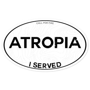 Atropia I Served Sticker