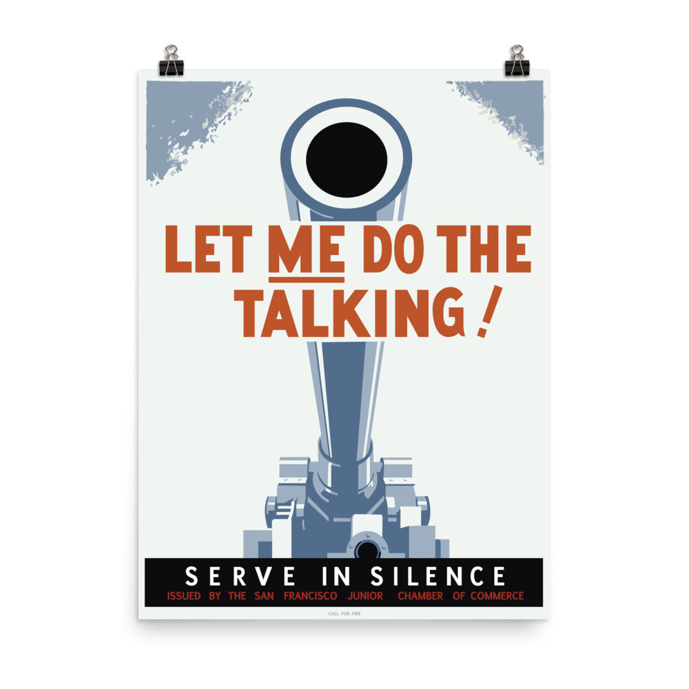 Let Me Do The Talking! Poster