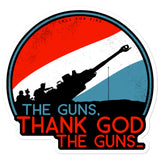 The Guns Sticker