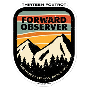 Forward Observer 13F Sticker
