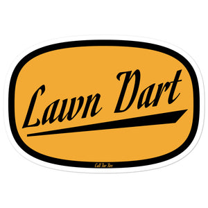 Lawn Dart Sticker