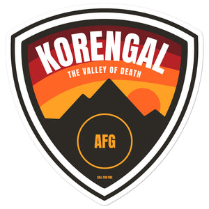 Korengal Sticker