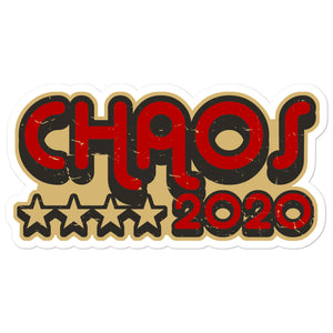 Chaos 2020 Sticker