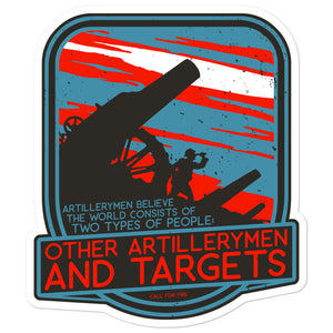 Artillerymen Sticker