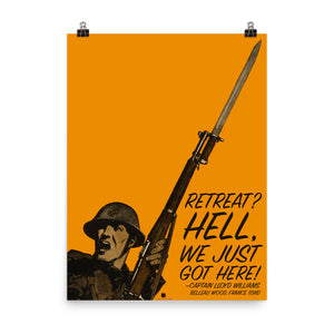 Retreat Hell Poster