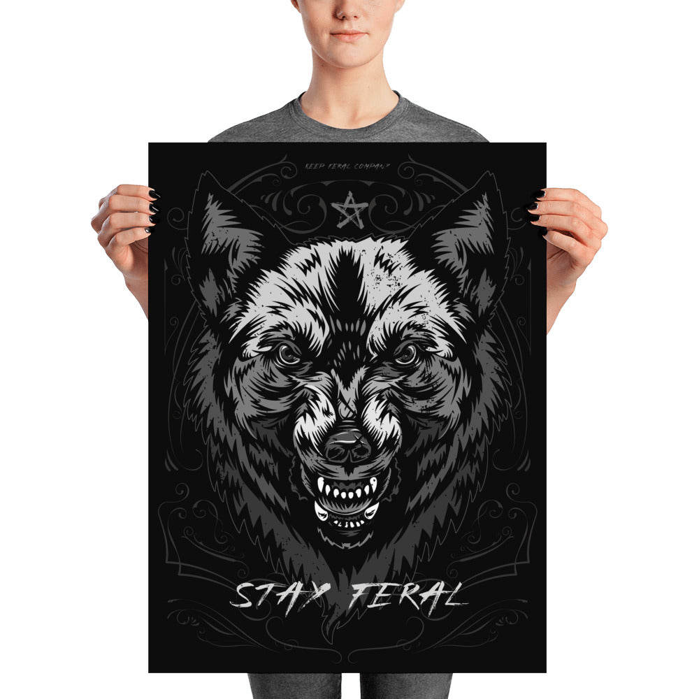 Stay Feral Print