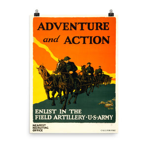 Adventure and Action Poster