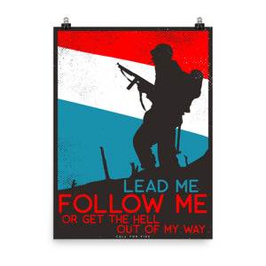 Lead Me Poster