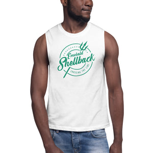 Emerald Shellback Muscle Shirt