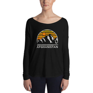 Afghanistan Tourist Flowy Long Sleeve