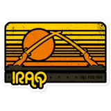Iraq Tourist Sticker