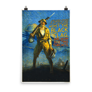 Hoist The Black Flag Poster
