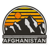 Afghanistan Tourist Sticker
