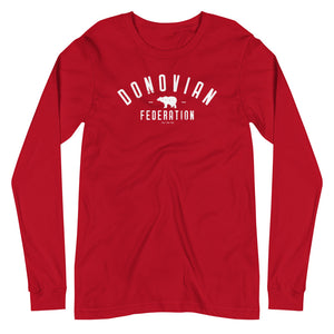 Donovia Unisex Long Sleeve