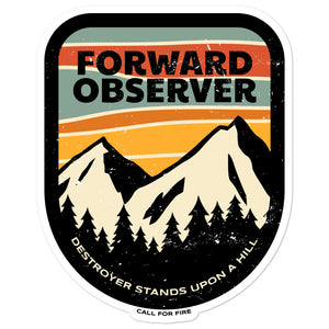 Forward Observer Sticker