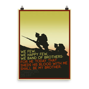 We Band of Brothers Poster