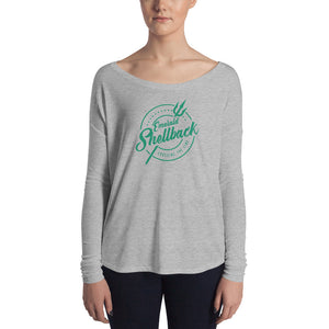 Emerald Shellback Flowy Long Sleeve