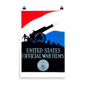 US War Films Poster