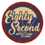 Eighty Second Sticker