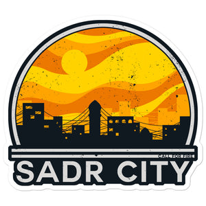 Sadr City Sticker