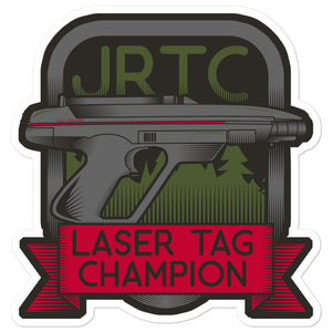 JRTC Laser Tag Champ Sticker