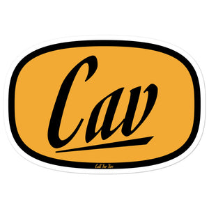 Cav Sticker