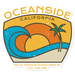 Oceanside Sticker