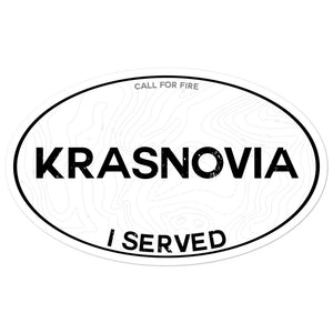 Krasnovia I Served Sticker