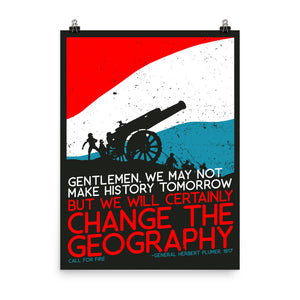 Change The Geography Poster