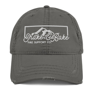 Shake And Bake Distressed Hat
