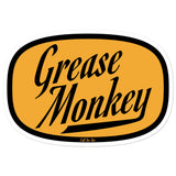 Grease Monkey Sticker