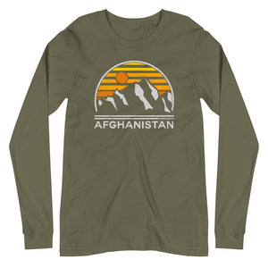 Afghanistan Tourist Long Sleeve