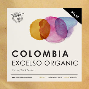 Colombia Excelso Organic -  Decaf (200g)