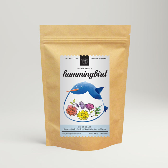 Hummingbird: House Filter Blend (200g)