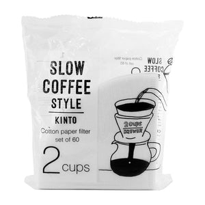 Kinto Cotton Paper Filter (2 cups)