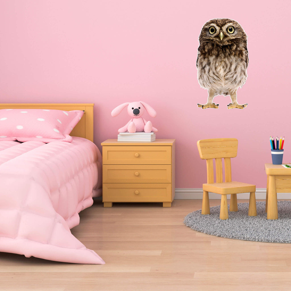 Owl Body Vinyl Wall Sticker - pawprintshq-com
