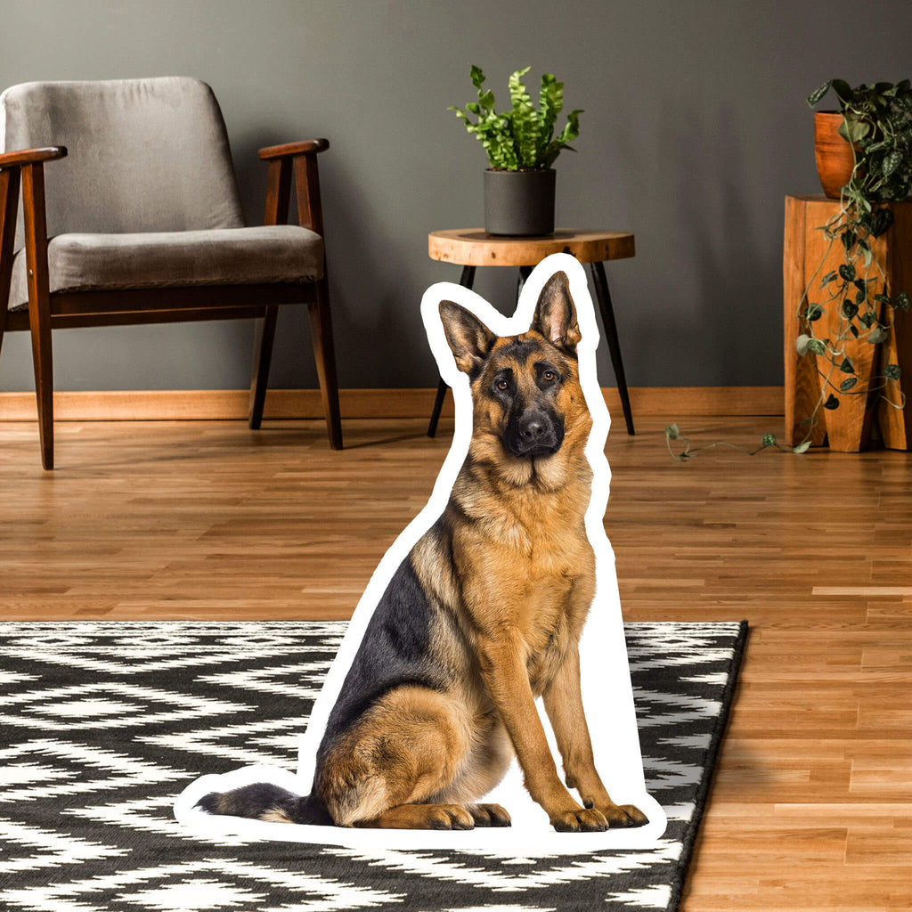 German Shepherd Body Standup - pawprintshq-com