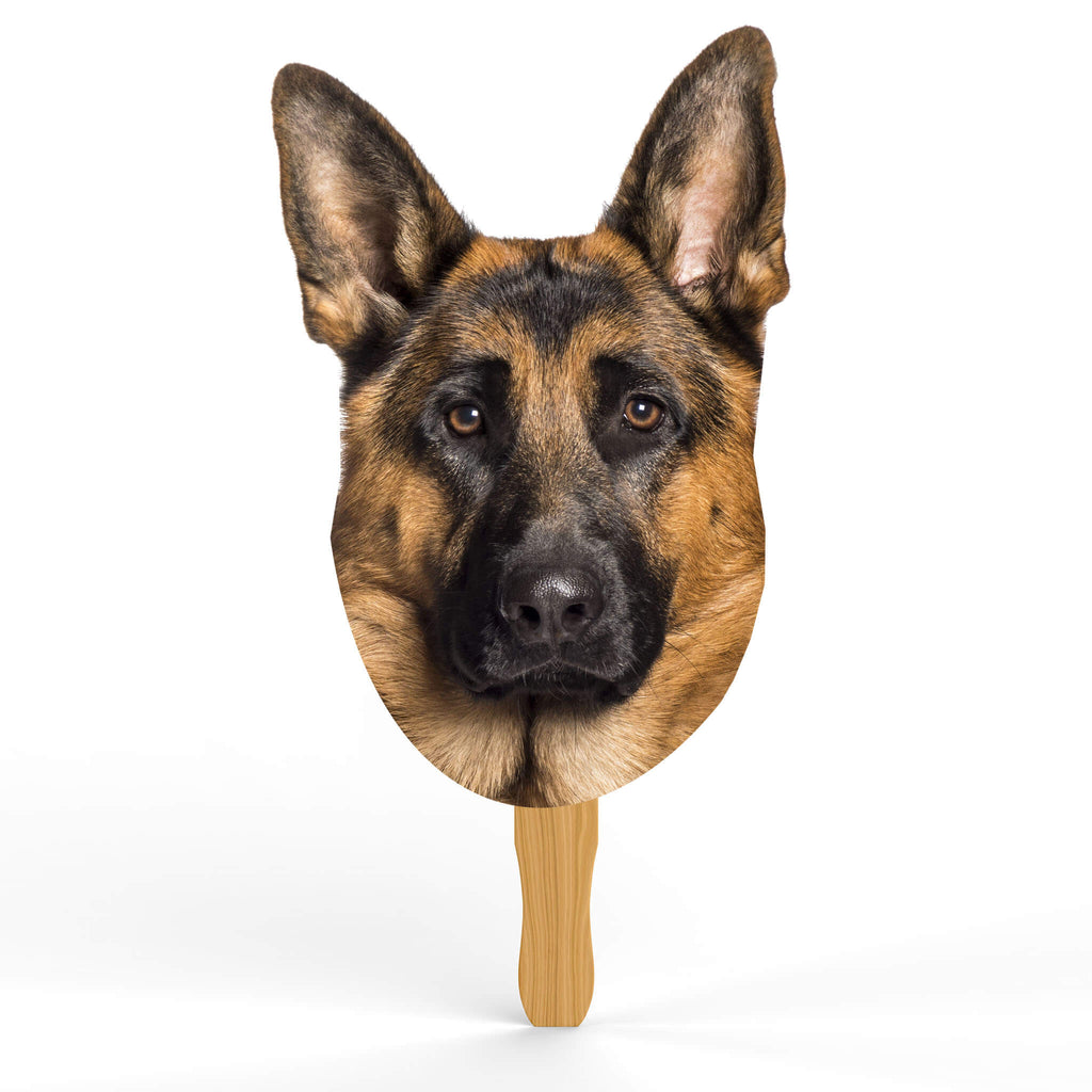 German Shepherd Head Cutout - pawprintshq-com