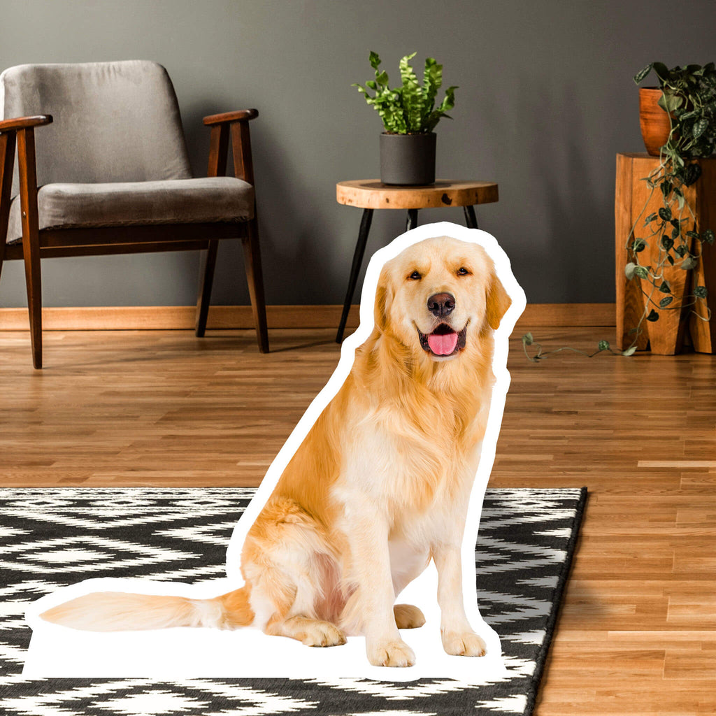 Golden Retriever Body Standup - pawprintshq-com