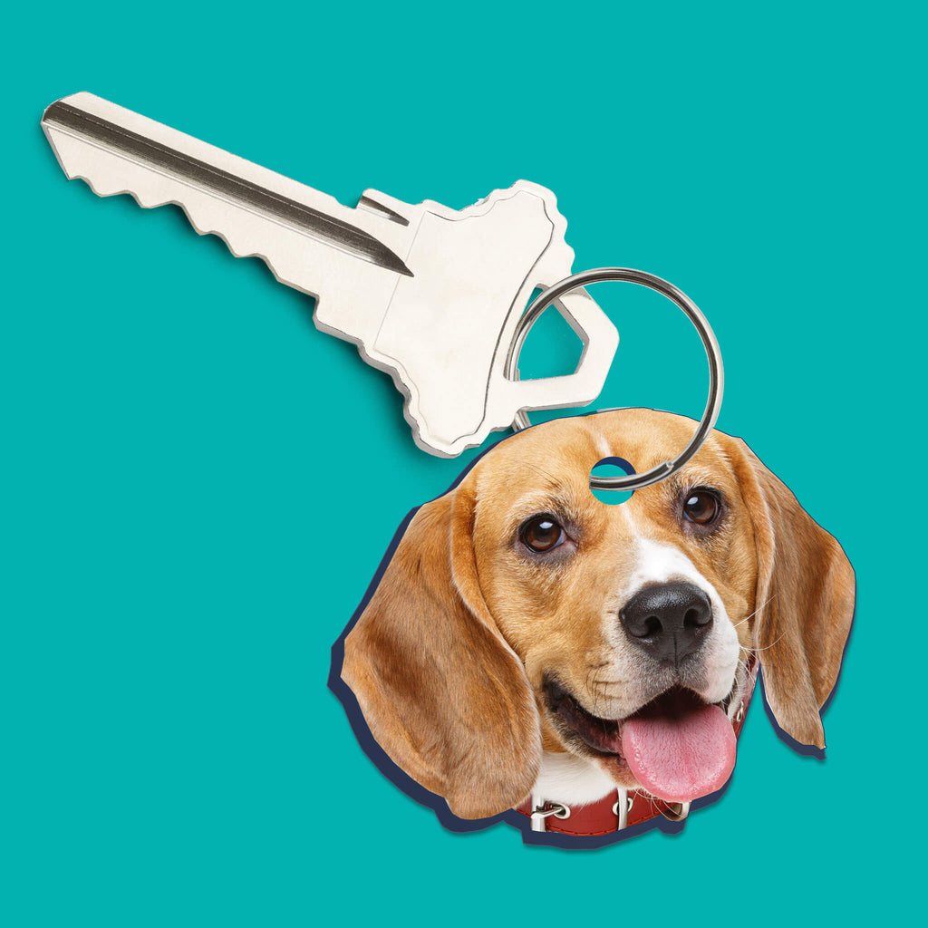 Custom Pet Head Keychain Cutouts - pawprintshq-com