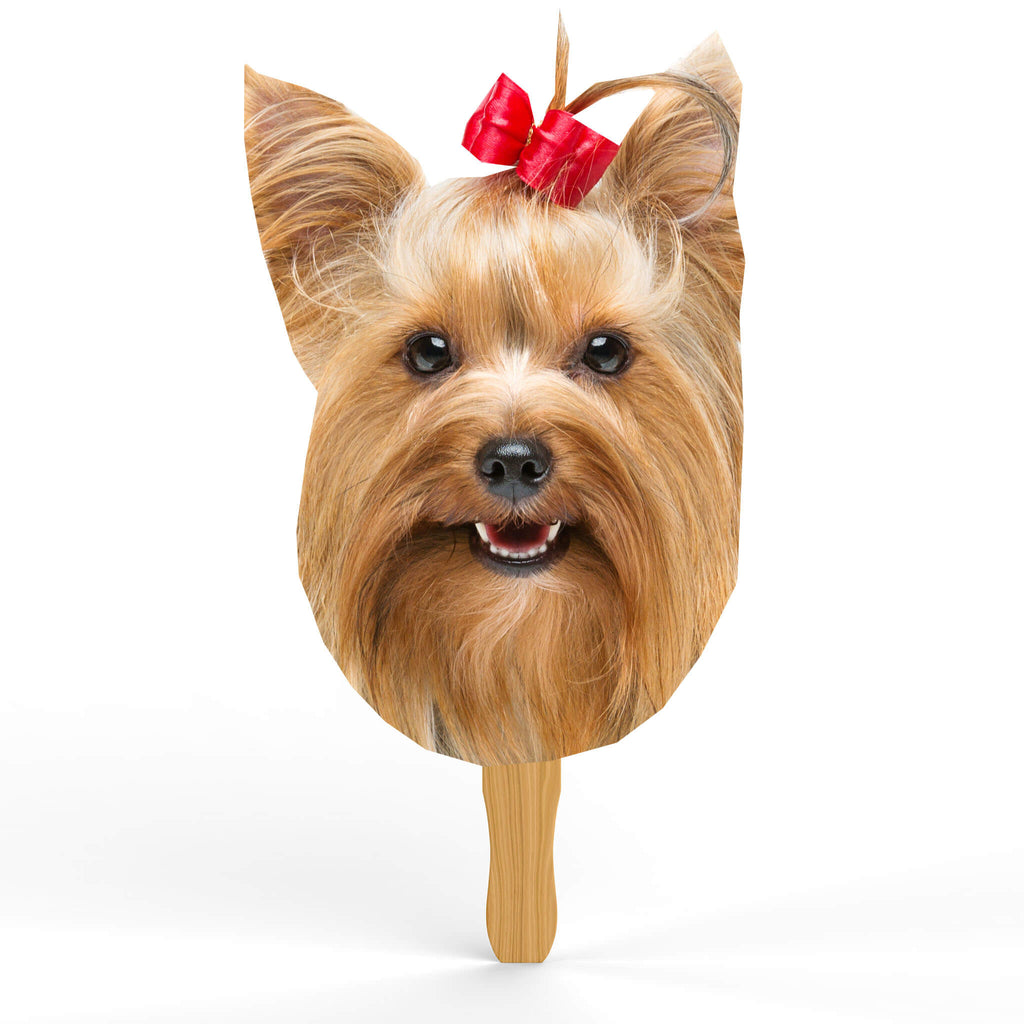 Yorkshire Terrier Head Cutout - pawprintshq-com