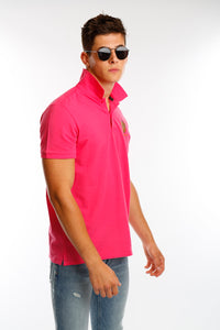 Pink Join The Set® Light Weight Polo