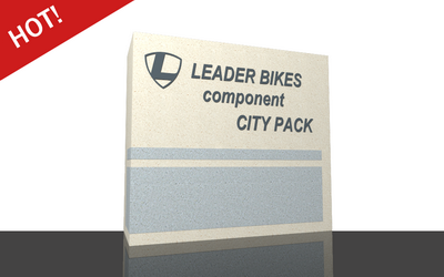 Component CITY PACK for complete bike