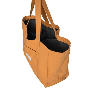 Middle Honey %100 Recycled Tote Bag
