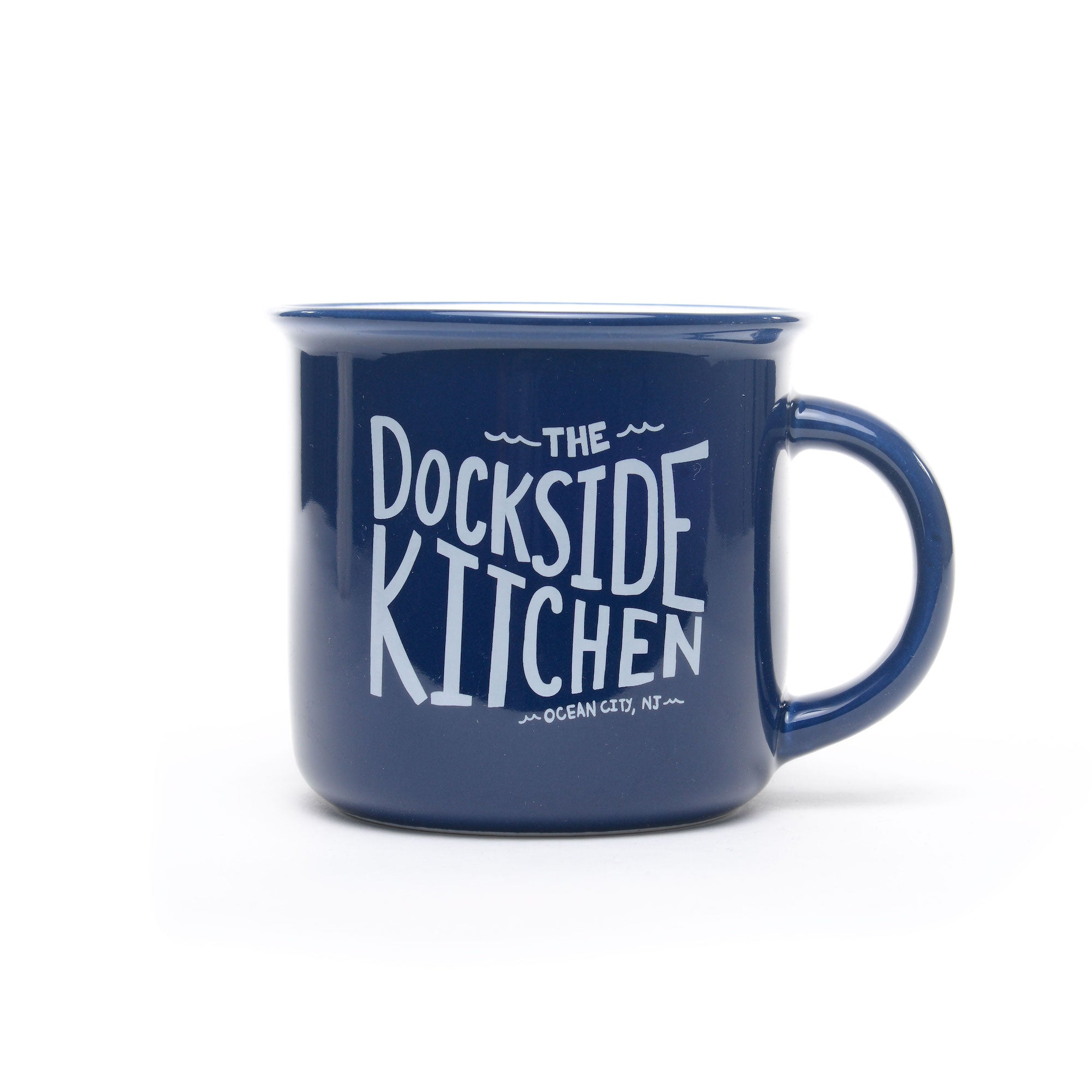 Dockside Camp Mug - Navy