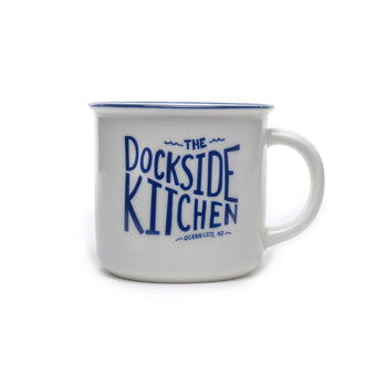 Dockside Camp Mug - White