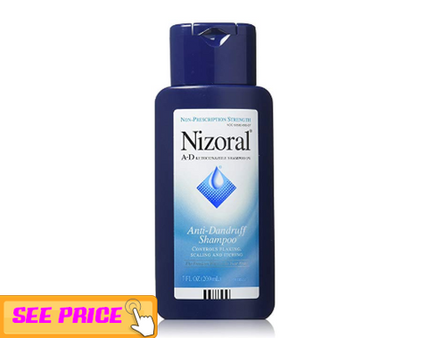 2.	Nizoral A-D Antidandruff shampoo with ketaconazole ,  Hair growth tips for men and women 2019