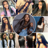 Shiny Peruvian Remy Human Hair Bundle Deals with Closure